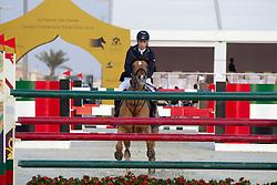 Lynch Denis (IRL) - Night Train<br /> Final Global Champions Tour - Abu Dhabi 2012<br /> © Hippo Foto - Cindy Voss