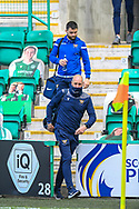Paul Mathers, goalkeeping coach of St Johnstone FC arrives before the SPFL Premiership match between Hibernian and St Johnstone at Easter Road Stadium, Edinburgh, Scotland on 1 May 2021.