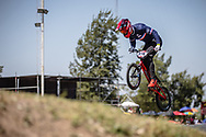 #974 (MAYET Romain) FRA  at Round 9 of the 2019 UCI BMX Supercross World Cup in Santiago del Estero, Argentina