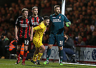 AFC Bournemouth goalkeeper Artur Boruc during the Capital One Cup match between Bournemouth and Liverpool at the Goldsands Stadium, Bournemouth, England on 17 December 2014.