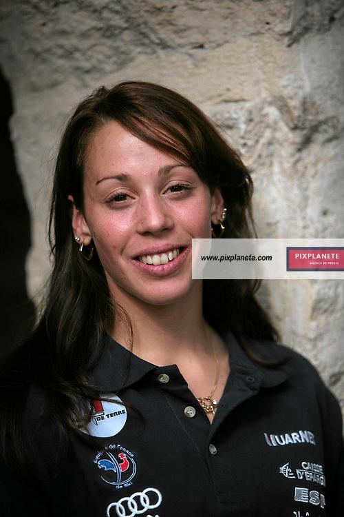 Marion Bertrand - Ski Alpin - présentation de l'équipe de France de ski 2007-2008 - Photos exclusives - 9/10/2007 - JSB / PixPlanete