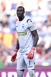 October 20, 2018 - Rome, Rome, Italy - Alfred Gomis of SPAL during the Serie A match between Roma and SPAL at Stadio Olimpico, Rome, Italy on 20 October 2018  (Credit Image: © Giuseppe Maffia/NurPhoto via ZUMA Press)