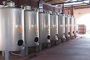 stainless steel tanks herdade do esporao alentejo portugal