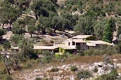 This is the house near Saint-Tropez in the South of France  where Johnny Depp, Vanessa Paradis and children are staying for holiday.<br /> Saint-Tropez, July 10, 2007
