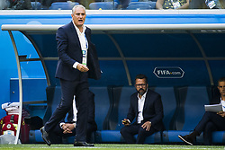 June 22, 2018 - Sankt Petersburg, Russia - 180622 Head coach Tite of Brazil during the FIFA World Cup group stage match between Brazil and Costa Rica on June 22, 2018 in Sankt Petersburg..Photo: Petter Arvidson / BILDBYRÃ…N / kod PA / 92075 (Credit Image: © Petter Arvidson/Bildbyran via ZUMA Press)