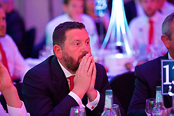 CARDIFF, WALES - Wednesday, June 1, 2016: Wales' equipment manager David Griffiths during a charity send-off gala dinner at the Vale Resort Hotel ahead of the UEFA Euro 2016. (Pic by David Rawcliffe/Propaganda)