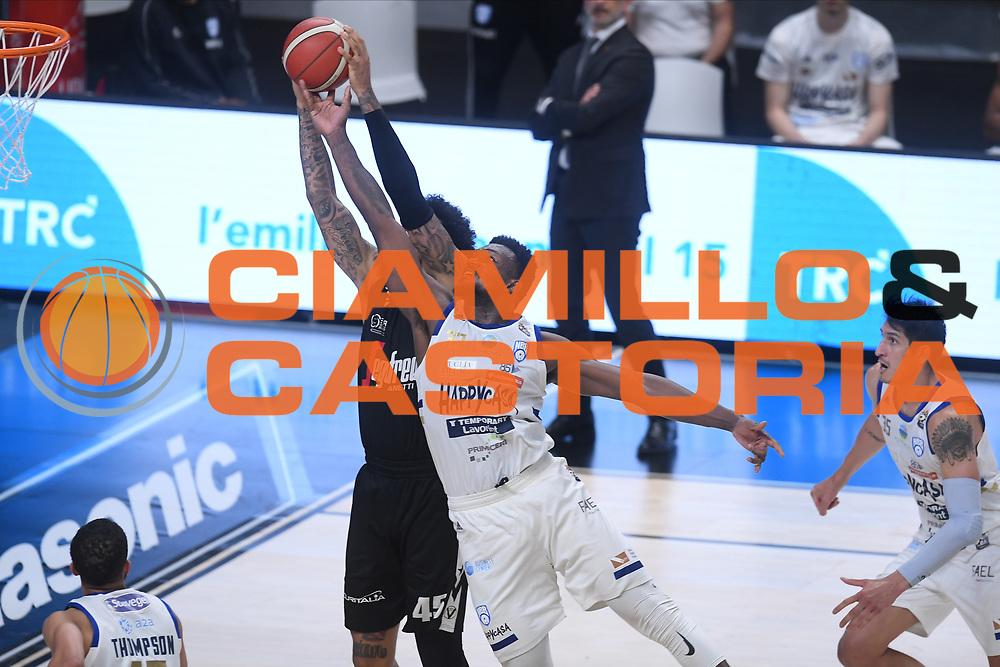 Perkins Nick<br /> Segafredo Virtus Bologna - Happy Casa Brindisi<br /> Semifinali - Gara 3<br /> Legabasket Serie A UnipolSAI 2020/2021<br /> Bologna, 02/06/2021<br /> Foto GiulioCiamillo / Ciamillo
