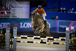 Duguet Romain, SUI, Twentytwo Des Biches<br /> Training session<br /> Longines FEI World Cup Jumping Final, Omaha 2017 <br /> © Hippo Foto - Jon Stroud<br /> 29/03/2017