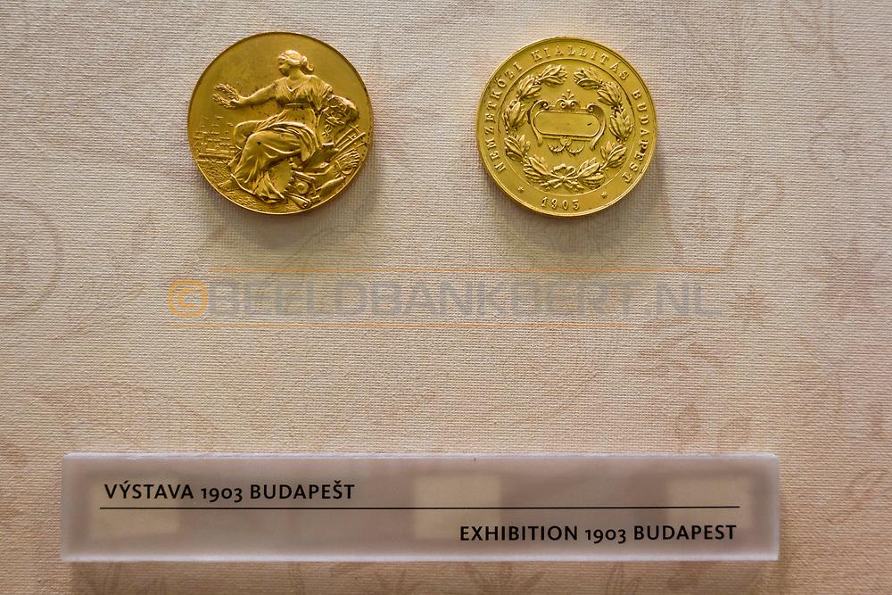 20-09-2015: Jan Becher Museum in Karlovy Vary (Karlsbad), Tsjechië. Foto: Jan Becher museum