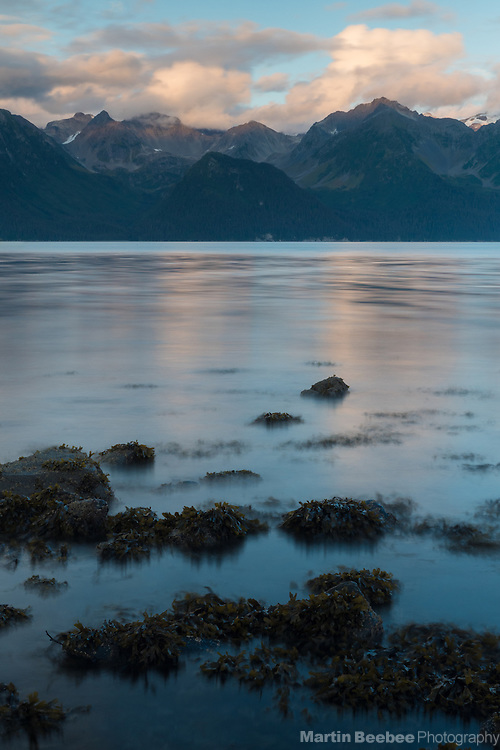 Evening over Resurrection Bay, Seward, Alaska