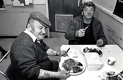Nottingham 'Help the Homeless' hostel, Canal Street, UK 1989