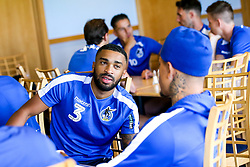 Tareiq Holmes-Dennis of Bristol Rovers during the first day of preseason training ahead of the 2019/20 Sky Bet League One Season - Mandatory by-line: Robbie Stephenson/JMP - 27/06/2019 - FOOTBALL - The Lawns - Bristol, England - Bristol Rovers Return for Preseason Training