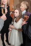 ELAINE ALLEN; ISABELLE ALLEN; CHRISTINE NASH, English National Ballet's celebrates their Christmas season at the London Coliseum,  St Martins Lane hotel. London. 13 December 2012.
