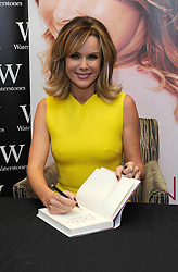 Amanda Holden at a Book-signing for her first autobiography, Bluewater Shopping Centre, UK.  Saturday, 26th October 2013. Picture by i-Images
