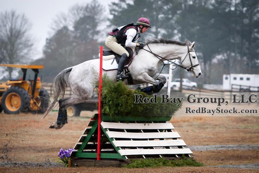Ariel Grald and LBF O'Leagh's Image at 2013 Pine Top Farm Advanced Horse Trials in Thomson, Georgia.
