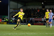 Burton Albion midfielder Tom Naylor (15) during the EFL Sky Bet Championship match between Burton Albion and Wigan Athletic at the Pirelli Stadium, Burton upon Trent, England on 14 January 2017. Photo by Richard Holmes.