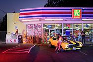 USA, Oregon, Central, Bend, K Market, American Dreamscapes