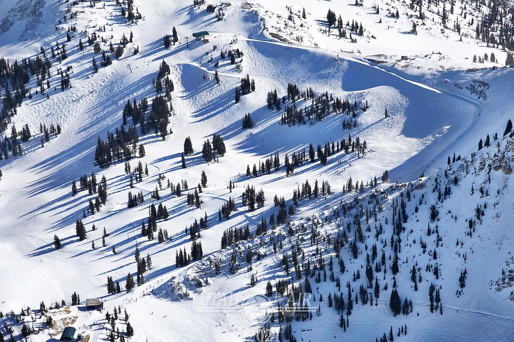 Alta Ski resort, Collins and Sugarloaf lifts