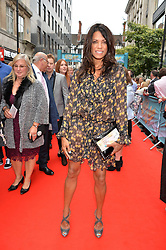 Jenny Powell arriving at The opening night of Wind in The Willows at the London Palladium, Argyll Street, London England. 29 June 2017.<br /> Photo by Dominic O'Neill/SilverHub 0203 174 1069 sales@silverhubmedia.com