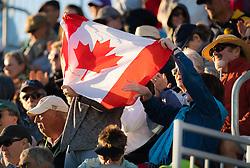 March 8, 2019 - Indian Wells, USA - Canadian Fans at the 2019 BNP Paribas Open WTA Premier Mandatory tennis tournament (Credit Image: © AFP7 via ZUMA Wire)