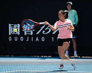 Ya Yi Yang of Chinese Taipeh in action during the Juniors competition at the 2020 Australian Open, WTA Grand Slam tennis tournament on January 28, 2020 at Melbourne Park in Melbourne, Australia - Photo Rob Prange / Spain ProSportsImages / DPPI / ProSportsImages / DPPI
