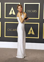 Renée Zellweger at the 92nd Academy Awards - Press Room held at the Dolby Theatre in Hollywood, USA on February 9, 2020.