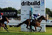 "Beer With The Boys ridden by Callum Shepherd and trained by Mick Channon in the Play ""Four From The Top"" At Valuerater.Co.Uk Handicap (Value Rater Racing Club Summer Stayers' Qual) race.  - Ryan Hiscott/JMP - 02/08/2019 - PR - Bath Racecourse - Bath, England - Race Meeting at Bath Racecourse"
