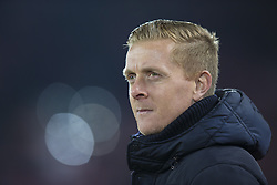 Halbfinale im Liga-Pokal Liverpool vs Leeds 1:0 in Liverpool / 291116<br /> <br /> ***LIVERPOOL, ENGLAND 29TH NOVEMBER 2016:<br /> Leeds United manager Garry Monk takes to the touchline before the English League Cup soccer match between Liverpool and Leeds at Anfield Stadium in Liverpool England November 29th 2016***