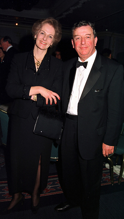 LORD & LADY WAKEHAM at a dinner in London on 17th November 1999.MZE 73