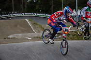 #40 (VRENEGOOR Danielle) NED during round 3 of the 2017 UCI BMX  Supercross World Cup in Zolder, Belgium,