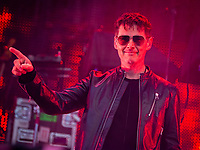 Morten Harket i A-ha under Jugendfest 2018 på Color Line Stadion i Ålesund.