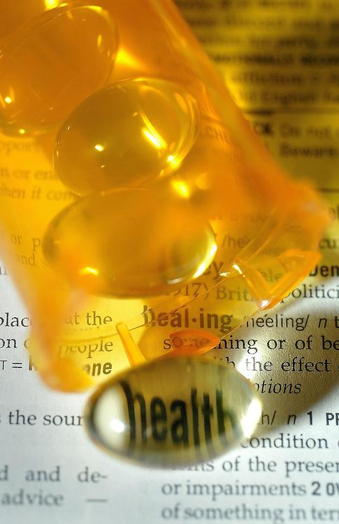 Vitamin E pill illustration..(Ottawa Sun Photo By Sean Kilpatrick)