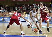 DESCRIZIONE : Katowice Poland Polonia Eurobasket Men 2009 Semifinal 5-8 place Francia France Turchia Turkey <br /> GIOCATORE : Tony Parker<br /> SQUADRA : Francia France<br /> EVENTO : Eurobasket Men 2009<br /> GARA : Francia France Turchia Turkey <br /> DATA : 19/09/2009 <br /> CATEGORIA :<br /> SPORT : Pallacanestro <br /> AUTORE : Agenzia Ciamillo-Castoria/H.Bellenger<br /> Galleria : Eurobasket Men 2009 <br /> Fotonotizia : Katowice  Poland Polonia Eurobasket Men 2009 Semifinal 5-8 place Francia France Turchia Turkey <br /> Predefinita :