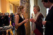 SUSANNAH BROWN, CURATOR; LADY MOIRA CAMPBELL; Cecil Beaton private view. V and A Museum. London. 6 February 2012