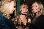 ALFIYA KUANYSHEV; JOANNA PRZETAKIEWICZ, Pedro Girao of Christies and Duncan Macintyre of Lombard Odier host the last dinner at the Old Annabels. 44 Berkeley Sq. London. 15 November 2018