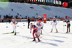 Heidi Weng (NOR) during the ladies team sprint race at FIS Cross Country World Cup Planica 2016, on January 17, 2016 at Planica, Slovenia. Photo By Urban Urbanc / Sportida