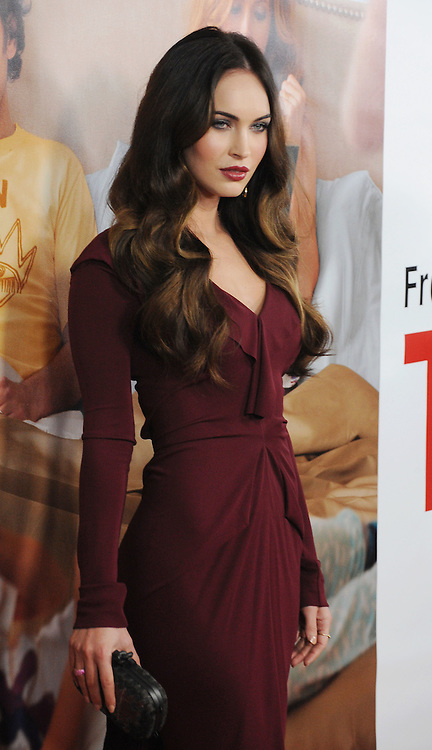 HOLLYWOOD, CA - DECEMBER 12: Megan Fox arrives at the 'This Is 40' - Los Angeles Premiere at Grauman's Chinese Theatre on December 12, 2012 in Hollywood, California.