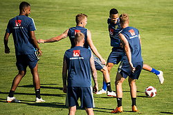 July 4, 2018 - Gelendzhik, Russia - 180704 Sebastian Larsson and Martin Olsson of the Swedish national football team at a practice session during the FIFA World Cup on July 4, 2018 in Gelendzhik..Photo: Petter Arvidson / BILDBYRN / kod PA / 92081 (Credit Image: © Petter Arvidson/Bildbyran via ZUMA Press)