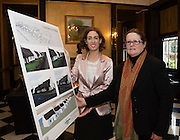 Repro FREE Hildegarde Naughton TD with Janet O Toole, Connemara West at the launch of Connemara West's  ambitious International Residential Education Centre at a briefing in the Hotel Meyrick, Galway . The Centre, in the village of Tullycross, County Galway will consist of a state-of-art newly built education hub with a 50 seat auditorium; a wifi-enabled library; group study/breakout rooms; video conferencing facilities; meeting rooms; a conference room; community meeting rooms and a coffee dock. <br /> The accommodation part of the Centre will be made up of the renovated iconic 9 thatched cottages in Tullycross village, Connemara West's first project in 1973, and will hold up to 40 students and faculty.<br /> Photo:Andrew Downes, xposure
