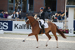 Vasaryova Hana, CZE, Silky Moves<br /> Longines FEI/WBFSH World Breeding Dressage Championships for Young Horses - Ermelo 2017<br /> © Hippo Foto - Dirk Caremans<br /> 03/08/2017