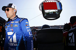 April 13, 2018 - Bristol, Tennessee, United States of America - April 13, 2018 - Bristol, Tennessee, USA: Jamie McMurray (1) hangs out on pit road during qualifying for the Food City 500 at Bristol Motor Speedway in Bristol, Tennessee. (Credit Image: © Chris Owens Asp Inc/ASP via ZUMA Wire)