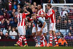 - Photo mandatory by-line: Rogan Thomson/JMP - 07966 386802 - 23/03/2014 - SPORT - FOOTBALL - Villa Park, Birmingham - Aston Villa v Stoke City - Barclays Premier League.