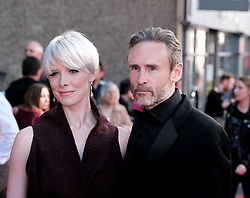 Edinburgh International Film Festival 2019<br /> <br /> Boyz In The Wood (European Premiere)<br /> <br /> Stars and guests arrive on the red carpet for the opening gala<br /> <br /> Pictured: Shauna MacDonald and Cal McAninch<br /> <br /> Alex Todd | Edinburgh Elite media