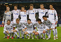 Fotball<br /> Champions League<br /> 06.12.2006<br /> Hamburger SV / HSV - CSKA Moskva<br /> Foto: Witters/Digitalsport<br /> NORWAY ONLY<br /> <br /> Fussballelf ZSKA Moskau<br /> hinten v.l. Igor Akinfeev, Deividas Semberas. Ivan Teranov, Aleksei Berezutskiy, Vasili Berezutskiy, Dudu<br /> vorn v.l. Ivica Olic, Milos Krasic, Evgeni Aldonin, Yuri Zhirkov, Daniel Carvalho<br /> Champions League Hamburger SV - ZSKA Moskau <br /> Lagbilde CSKA Moskva