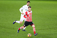 Steven Davis of Southampton in action.  Premier league match, Swansea city v Southampton at the Liberty Stadium in Swansea, South Wales on Tuesday 31st January 2017.<br /> pic by  Andrew Orchard, Andrew Orchard sports photography.