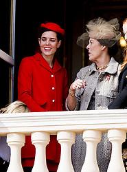 Charlotte Casiraghi, Prinzessin Caroline von Hannover bei den Feierlichkeiten zum Nationalfeiertag in Monaco / 191116<br /> <br /> ***National Day in Monaco, November 19th, 2016***