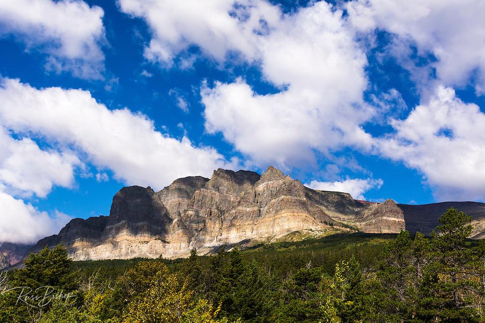 Apikuni Mountain, Many Glacier, Glacier National Park, Montana USA