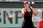 Roland Garros. Paris, France. May 29th 2012.Russian player Maria SHARAPOVA against Alexandra CADANTU.