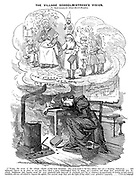 The Village Schoolmistress's Vision. An Object-Lesson for School-Board Fanatics.