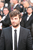 Pïo Marmai attends the gala screening of Lawless at the 65th Cannes Film Festival. The screenplay for the film Lawless was written by Nick Cave and Directed by John Hillcoat. Saturday 19th May 2012 in Cannes Film Festival, France.